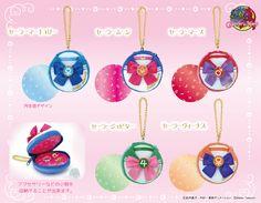 """""""sailor moon"""" """"sailor moon merchandise"""" """"sailor moon toys"""" """"sailor moon plush"""" """"sailor moon pouch"""" macaron pouch charm anime japan shop 2016 senshi sailor venus mars jupiter mercury"""