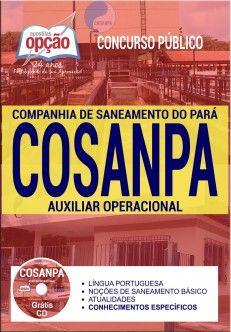 Apostila Auxiliar Operacional Companhia de Saneamento do Pará
