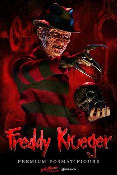 """A Nightmare on Elm Street Dream Warriors"" Premium Format Figure Freddy Krueger Freddy Krueger, Scary Movies, Horror Movies, Satan, Horror Villains, Dream Warriors, Horror Icons, Horror House, Arte Horror"