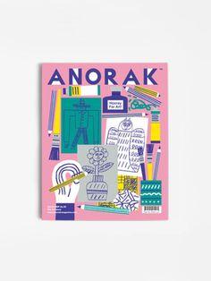kids magazine - Anorak The Art Issue