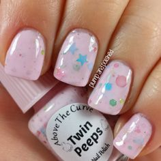 Plump and Polished: Above the Curve - Power to the Polish Peeps Collection: Twin Peeps