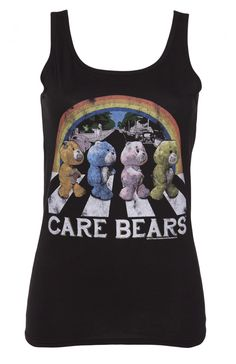 Ladies Care Bears Abbey Road Vest