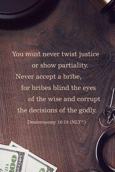 Deuteronomy 16:19 | Word on the Way
