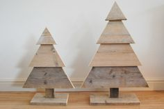 Leuk, maar hoe gaan we  deze schattige kerstbomen decoreren???