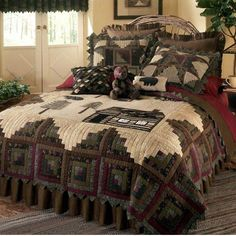 Image from http://www.canadianloghomes.com/1alcs-northwoods-rustic-quilt-lg.jpg.