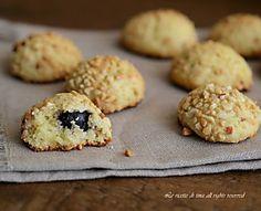 Noccioline all'amarena(biscotti)