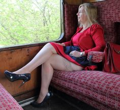 Trains Matures And Pantyhose You 3