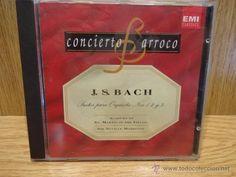 CONCIERTO BARROCO. J.S.BACH. SUITES PARA ORQUESTA. CD / DEL PRADO. 19 TEMAS. CALIDAD LUJO.