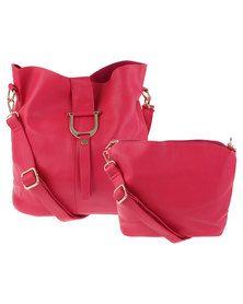 Utopia D Buckle Bag Pink