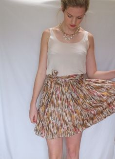 First (real) Skirt by Kate Smalley   Project   Sewing / Skirts