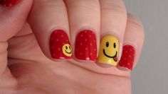 101 Beautiful Short Nail Art Ideas....#NailArts# not just for long nails...For someone like me who have short nails..here are some beautiful designs for short nails...will be trying some sooon