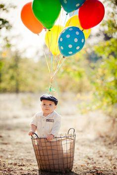 """Up""-themed 1st Birthday Shoot | burns photography"