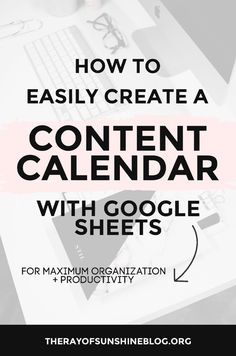 How to create a content calendar wi Content Marketing Strategy, Business Marketing, Online Business, Marketing Ideas, Business Calendar, Calendar Organization, Business Ethics, Time Management Tips, Online Entrepreneur