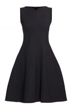 Czarna sukienka ALMERIA