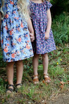 Handmade Rifle Paper Co. Coordinating Sister Dresses | redpajamas on Etsy
