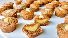 Koolhydraatarme speculaas muffins | KoolhydraatarmRecept.nl Low Carb Recipes, Breakfast, Desserts, Fendi, Low Carb, Morning Coffee, Tailgate Desserts, Deserts, Postres
