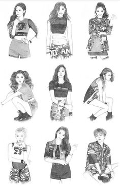 So talented 😍👌 Kpop Fanart, Got7 Fanart, Nayeon, Fandom, South Korean Girls, Korean Girl Groups, Twice Album, Warner Music, Twice Fanart
