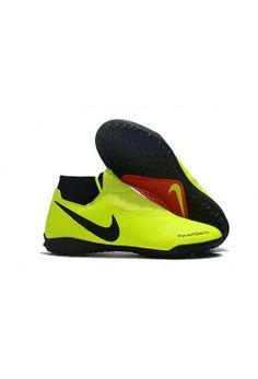 quality design fc6e6 fb6aa Kaufen Fußballschuhe Nike Phantom Vision Academy DF TF - Gelb Schwarz Rot