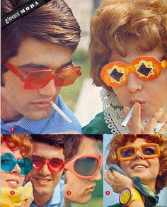 occhiali - glasses - 1965 by sonobugiardo, via Flickr