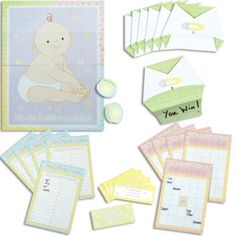 Baby Shower Game Kit - Party City
