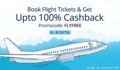 Paytm CashBack Offer Rs 1000 on flight booking