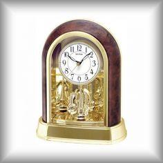 Elegantní stolní - krbové hodiny Rhythm Clock, Home Decor, Watch, Decoration Home, Room Decor, Clocks, Home Interior Design, Home Decoration, Interior Design