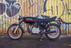 The Best Vintage Motorcycles For Sale On eBay, 12/30/14  1975 Ducati 850GT If you were ever curious about the outcome of crossing a DeLorean, a BMW M1, and a Ducati, this is it. The 850GT was originally designed by Giorgetto Guigiaro, whose place in the pantheon of great designers is unquestioned. Amazingly, the now-classic angular shape of this bike was somewhat controversial in its day.