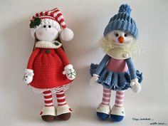 Toys crochet. With love... Мастерская игрушек | VK