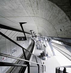 Stadelhofen Station / Zurich (Gallery) - Santiago Calatrava – Architects & Engineers
