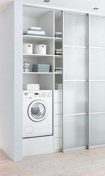 Можно ли поставить стиральную машину в коридоре и другие идеи как сделать коридор более функциональным. Используем площадь коридора для увеличения кухни или организуем гардеробную