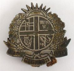 1916 Irish Citizen Army breast badge Army Badges, Army Gears, Old Irish, Lineage, Button Badge, Northern Ireland, Citizen, Colonial, Police