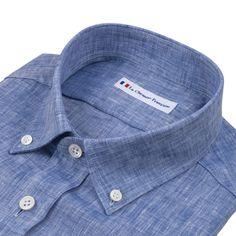 le dernier b1e63 90071 chemise homme avec bouton col