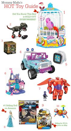 Most Wanted Toy Gift Guide for 2014 MommyMafia.com