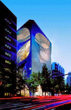 Flagstore Louis Vuitton, Osaka Japan #architecture ☮k☮