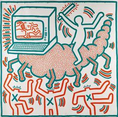 Keith Haring - Untitled (1983)