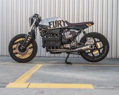 Bmw Cafe Racer, Cafe Racer Motorcycle, Custom Bmw, Custom Bikes, Hot Rods, Pantalon Ski, Brat Cafe, Cafe Racing, Bmw Motorcycles