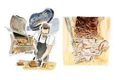 gourmet traveller + illustration - Google Search