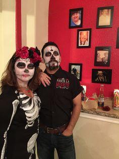 sugar skull costume | Couples Costumes | Halloween ...