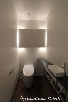 トイレ/バス事例:トイレ(「BOX+庭+BOX」)