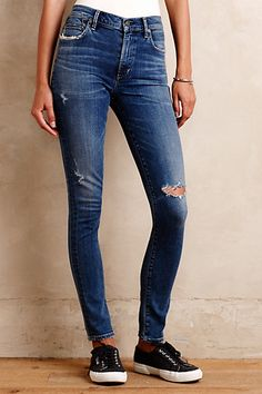 Citizens of Humanity Rocket Skinny Jeans #anthropologie