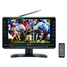 OpenBox SuperSonic Portable Widescreen LCD Display with Digital TV Tuner, USB/SD