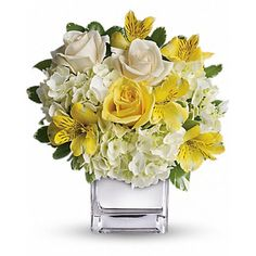 Order Sweetest Sunrise Bouquet flower arrangement from Magical Moments Flowers & Gifts, your local El Paso, TX florist. Send Sweetest Sunrise Bouquet floral arrangement throughout El Paso and surrounding areas. New Baby Flowers, Flowers Today, All Flowers, Fresh Flowers, Spring Flowers, Beautiful Flowers, Bouquet Flowers, City Flowers, Hydrangea Bouquet