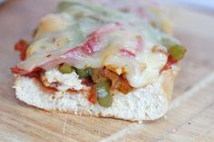 Chicken Fajita Melts