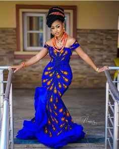 Classy Ankara Styles - Chimnaza - - Owning Ankara material is very easy but deciding on topnotch style to sew can be difficult atimes. For some individuals like myself, we have to browse till we can find classy Ankara styles. African Maxi Dresses, Latest African Fashion Dresses, African Print Fashion, African Prints, Nigerian Fashion, Ankara Fashion, Africa Fashion, Ankara Gowns, African Wedding Attire