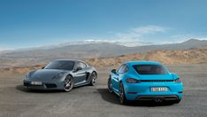 Porsche announced this week that its new 718 Cayman and 718 Cayman S mid-engine sports cars will be equipped with CarPlay, along with a USB port and. Carros Porsche, Porsche Sportwagen, Porsche Autos, Porsche Sports Car, Porsche Models, Porsche Boxster, Porsche Cars, Maserati, Bugatti
