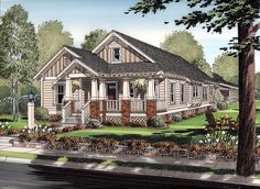 Bungalow Cottage Craftsman House Plan 30504