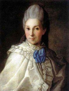 Дарья Александровна Трубецкая, урождённая графиня Румянцева, в 1-м бр. Вальдштейн (1730—1817)