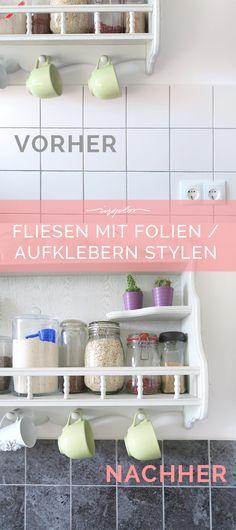 Küche selbst renovieren DIY interior, Budgeting and Future - küche fliesenspiegel verkleiden