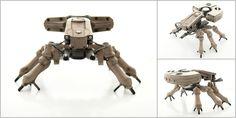 http://www.deviantart.com/art/Spider-Tank-multi-pic-392903998