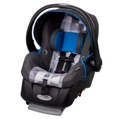 Evenflo Embrace Select Infant Car Seat with Sure Safe Installation, London, Multicolor